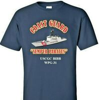 USCGC BIBB  WPG-31 *COAST GUARD  VINYL PRINT SHIRT/SWEAT