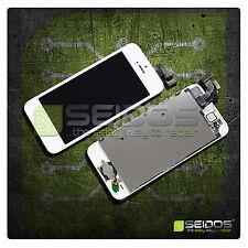 Display für iPhone 5 mit RETINA LCD Glas VORMONTIERT Komplett Front WEISS - WEIß