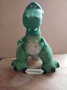 "2009 Disney Fisher Price Toy Story Rex Soft Plush Toy 14"""