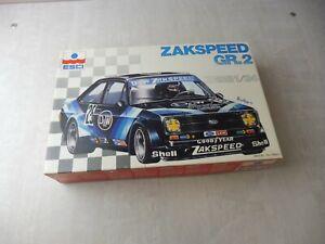 Ancienne maquette voiture, Zakspeed GR.2, Esci, 1/24, 3010