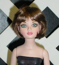 "DOLL Wig Monique ""Doris"" Size 6/7 - LIGHT BROWN fits Ellowyne (Blended)"
