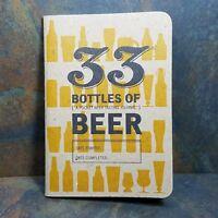 Pocket Beer Tasting Journal, 33 Bottles of, Unused