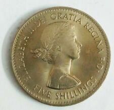England Queen Elizabeth ll Commemorative Coin 5 Shillings 1960 in Original Case