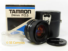Tamron SP 24 mm F2.5 Adaptall AD2 Lente Gran Angular * cerca Perfecto Estado *