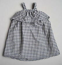 Baby Gap RED WHITE & COOL Girls 4 4T Blue & White Gingham Check Dress EUC