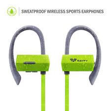 Écouteurs tours d'oreille verts