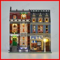 Led Light Lighting Kit Only For Compatible LEGO 10218 Pet Shop Supermarket Light