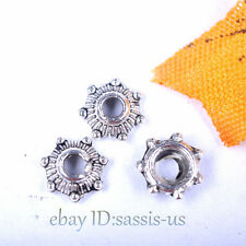 500pcs 5mm Bead Caps Flower Beads Caps Charms Tibet Silver DIY Jewelry A7039