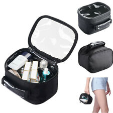 Transparent Cosmetic Bags Storage Pouch Zip Makeup Case Toiletry Bag Organizer