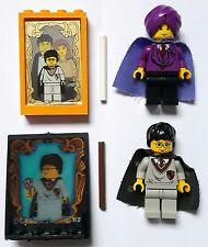 LEGO® Figuren Harry Potter & Quirrell (Voldemort) + Zubehör, Zauberstab, Spiegel