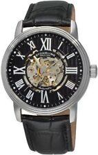Relojes de pulsera Automatic de cuero para hombre