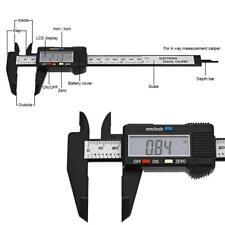 150mm LCD Digital Vernier Caliper Electronics Caliber Carbon Fiber Micrometer