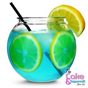 Plastic Cocktail Fish Bowl Mini Fishbowl Drinking Games Party Globe Punch