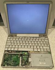 2 x PowerBook G4 12 inch **SPARES OR REPAIR** EMC1986 2004 EMC2030 2005