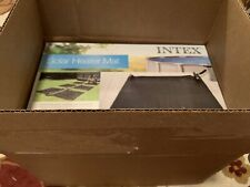 Intex 28685E Above Ground Swimming Pool Water Heater Solar Mat Blk Priority Ship