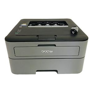 Brother HL-L2300D Monochrome Laser Printer 2 Pages Printed Full Toner & Drum