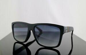 Gucci GG1124F/S Black / Grey Lens Square Men Sunglasses 100% UV