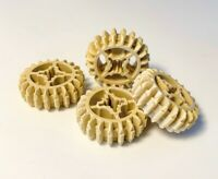 Lego Technic Gears Parts Pieces 20 Tooth Double Bevel Tan x 4pce Set 6084724