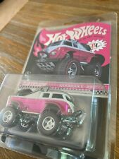 2020 Hot Wheels RLC Pink Volkswagen T1 Rockster Red Lines Real Riders EXCLUSIVE