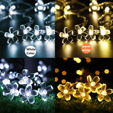 50 LED Fairy String Lights Solar Decoration Lights Garden X-mas Party Decorative