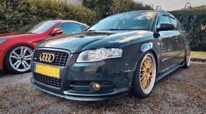 A4 Audi S4 RS4 B7 Front Bumper CUPRA R Euro Spoiler Lip Valance Splitter S Line
