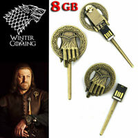Game of Thrones hand of the king USB 8GB Keychain Flash Drive Exclusive NEW!