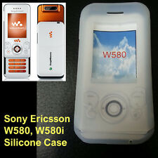 New Silicone Case Soft Jelly Skin Fitted Sony Ericsson W580i WS500i mobile phone