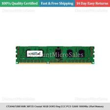 CT204872BB160B.36FED Crucial 16GB DDR3 Reg ECC PC3-12800 1600Mhz 2Rx4 Memory