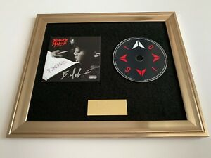 PERSONALLY SIGNED/AUTOGRAPHED BUGZY MALONE - B.INSPIRED FRAMED CD PRESENTATION
