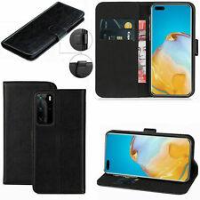 Portafoglio di Pelle Stand Custodia Cover per Book Huawei P40 P9 P10 P PRO 20 Lite 30 Uk P