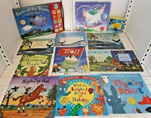 Collection Julia Donaldson Axel Scheffler Picture Story Books & Cds KY398