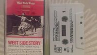 West Side Story Original Broadway Cast inc Maria + Cassette Tape - fully tested.