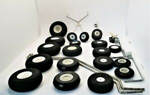 RC Plane Wheels and Accessories