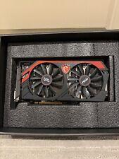 MSI Radeon R9 270X DirectX 11.2 R9 270X GAMING 2G Video Card (MS-V303)