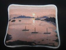 """Tandem Cottage Designs Cushion Front Counted Cross Stitch Kit """"Sunset"""" 8 count"""