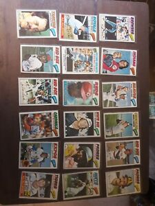 1977 Topps Baseball Lot 71 Cards: HOFers, Fidrych RC, Rookie stars and more