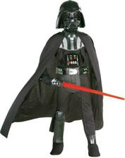 Deluxe Darth Vader Costume Star Wars Child Boys Halloween Kid Disney Large