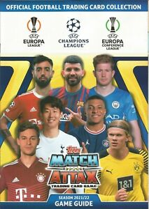 Topps Match Attax Champions League 2021/2022 Crystal/Chrome/Shield Edition 21/22