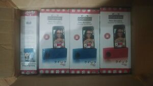 Lot of (9)Stuffers Retro Boombox Speaker For iPhone ST-1111 Red&Blue New!!!