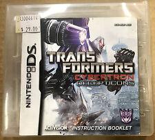 Transformers: War for Cybertron Decepticons (Nintendo DS, 2010)