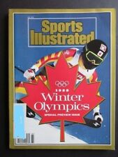 Sports Illustrated, 1988 Winter Olympics Special Preview December Issue