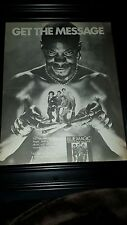 Blue Magic Message From The Magic Rare Original Promo Poster Ad Framed!