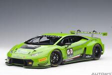Lamborghini Huracan Gt3 (Green) #63 2015 AUTOART 1:18 AA81529