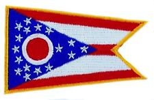 Patch embroidered Patch Flag OHIO Thermoadhesive USA AMERICAN UNITED STATES