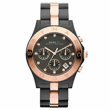 *NEW* MARC BY MARC JACOBS LADIES WATCH MBM3180 - BLADE TWO TONE ROSE GOLD BLACK