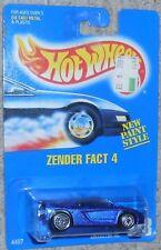 HOT WHEELS Zender Fact 4 Mosc New #228