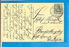 DR / NEUENKIRCHEN (KR. MELLE) 2.1.11, Gitter-Stpl. a. entspr. AK mit EF 85I