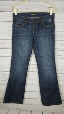 Underground Soul Jeans Distressed Low rise Dark wash Boot Cut Jr size 9