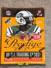 2013 Panini Prestige Football (Retail Box)  Retail $19.99 Sealed