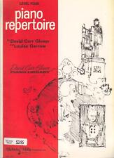PIANO REPERTOIRE LEVEL 4 by D.C. GLOVER & L. GARROW